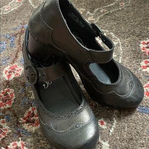 DANSKO Mary Janes 7 black metallic